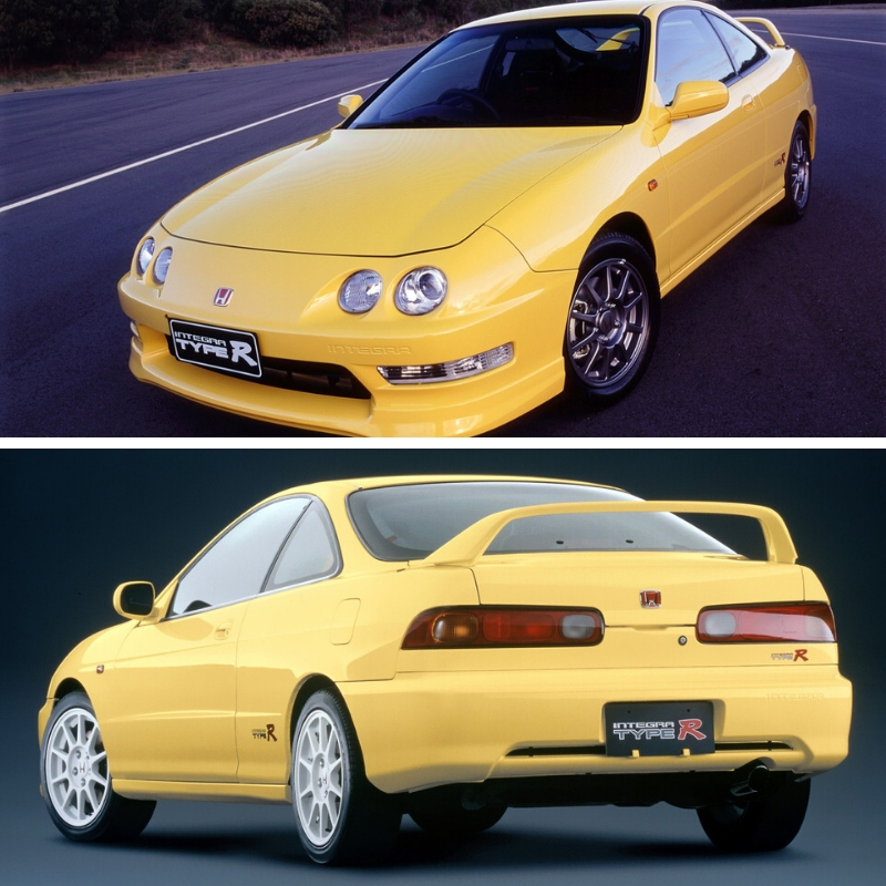 Honda Integra Type R Amarelo