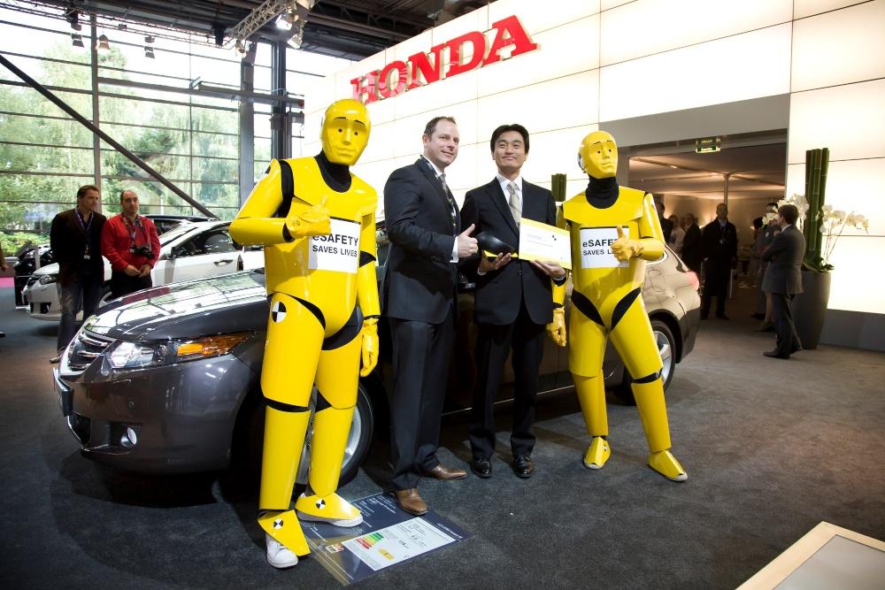 Honda vence testes Euro NCAP
