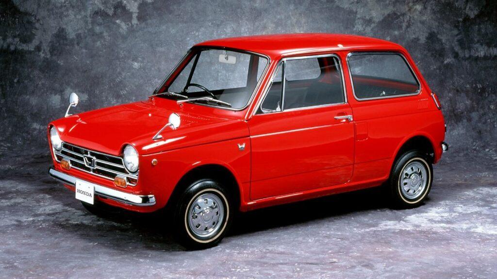 Honda N360 vermelho
