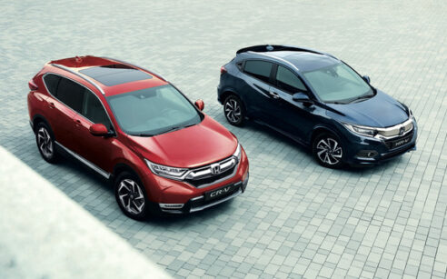 Honda CR-V e Honda HR-V