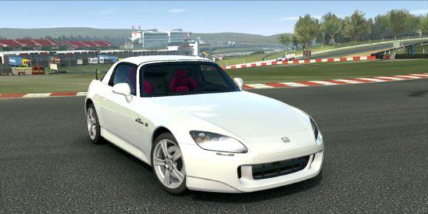 Carro Honda no jogo Real Racing 3