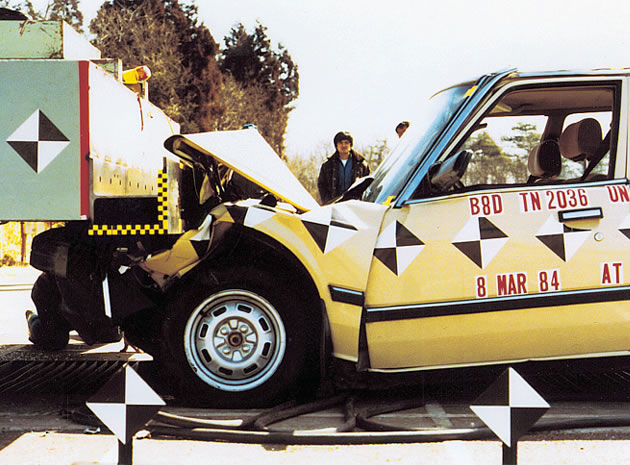 Teste Airbag Honda
