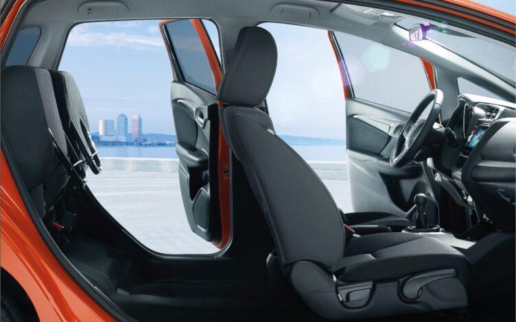 Interior de um carro Honda