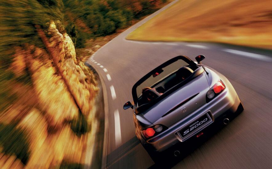 Honda S2000 na estrada
