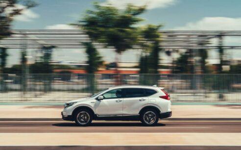 Honda CR-V Hybrid na estrada