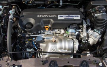 Motor de um carro Honda
