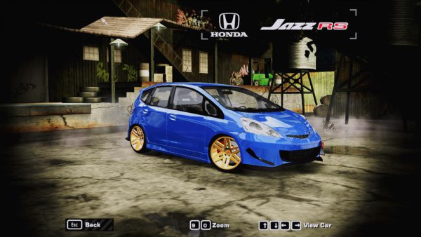 Honda no jogo Need for Speed
