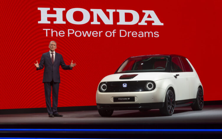 Tom Gardner apresenta o Honda e