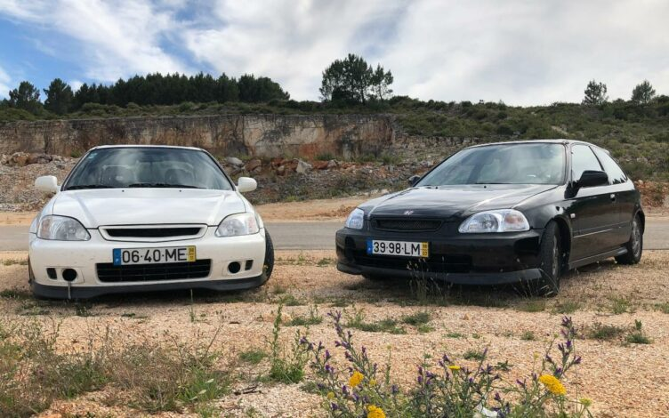 Dois Honda Civic