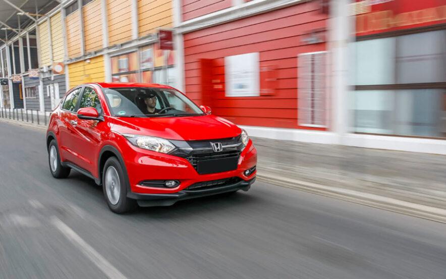 Honda HR-V Vermelho