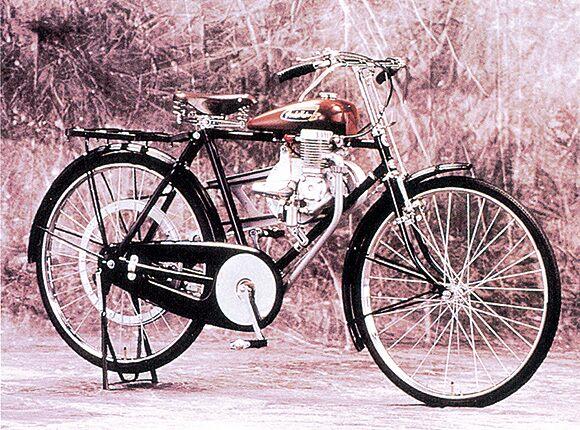 Bicicleta com motor Honda