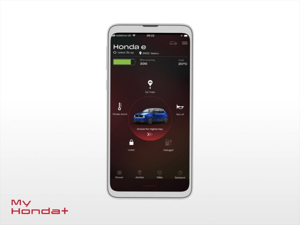 Aplicação My Honda +