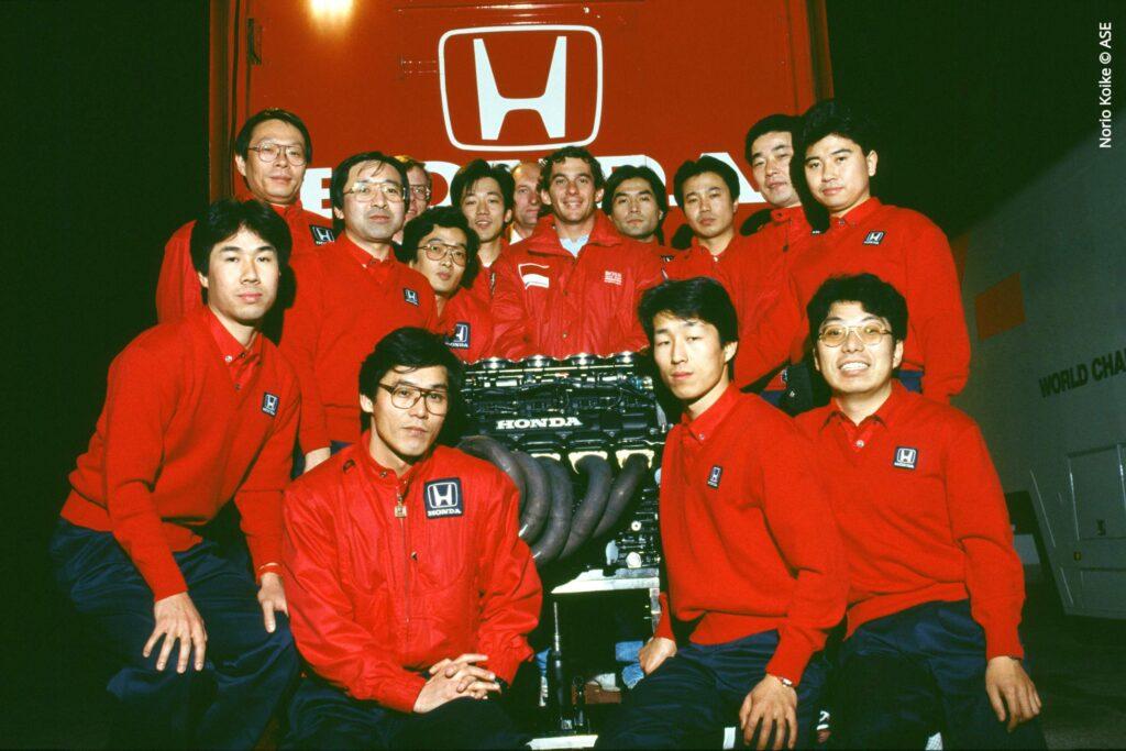 Ayrton Senna e Equipa Honda