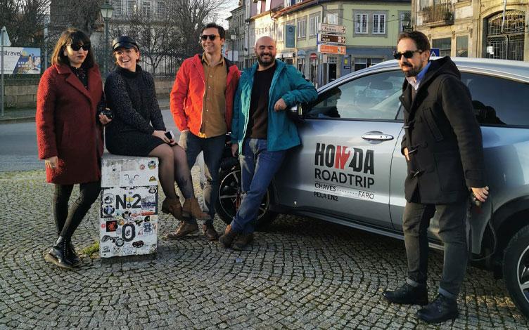 Convidados Roadtrip e Honda HR-V