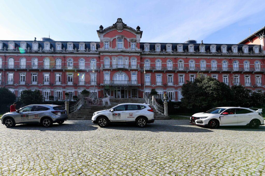 Honda CR-V, HR-V, Civic Type R, Vidago Palace