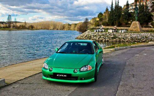 Honda CRX Verde