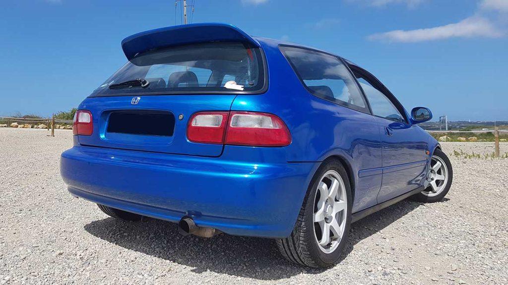 Honda Civic EG5 azul