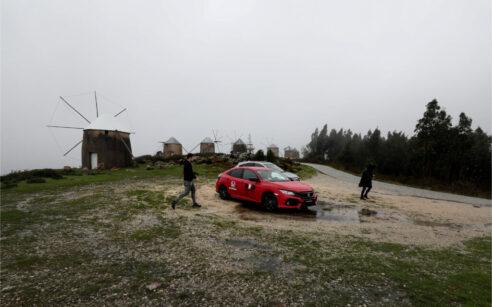 Moinhos de Gavinhos com o Honda Civic e o Honda HR-V
