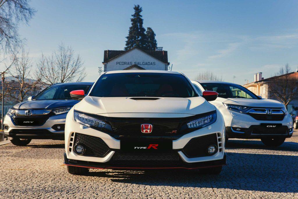 Honda Civic Type R, Honda HR-V e Honda CR-V Hybrid
