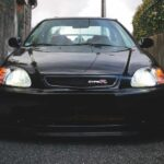 Honda Civic Type R preto