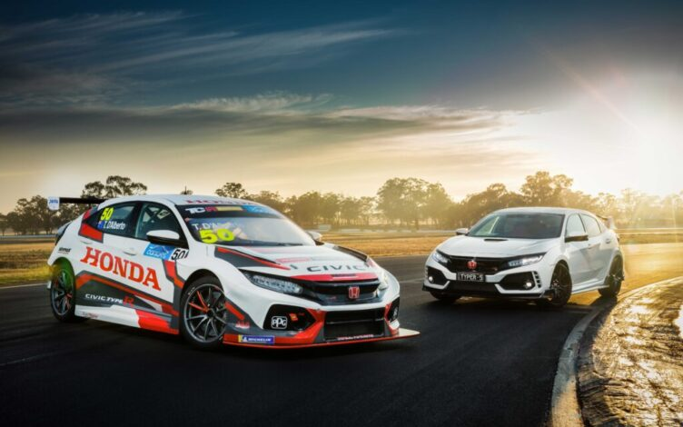 Honda Civic Type R e Honda Civic Type R TCR