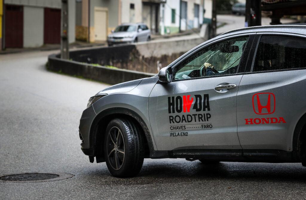 Honda HR-V na estrada