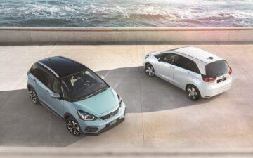 Honda Jazz Hybrid e Honda Jazz Crosstar