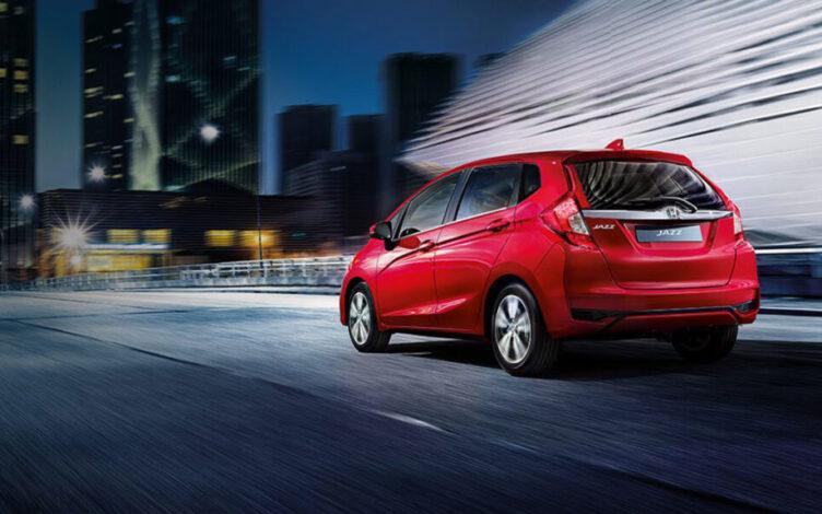 Marque test-drive para o carro citadino Honda Jazz