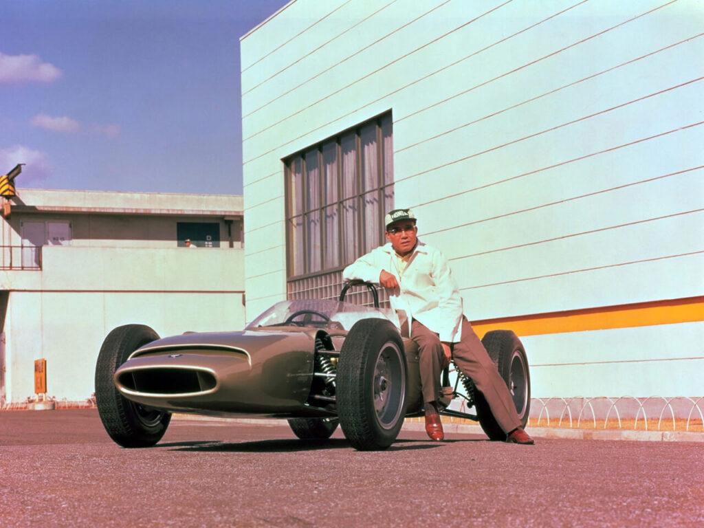 RA270 Soichiro Honda