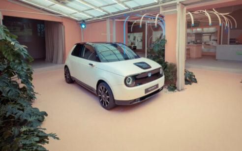 Protótipo Honda e Semana Design Milão