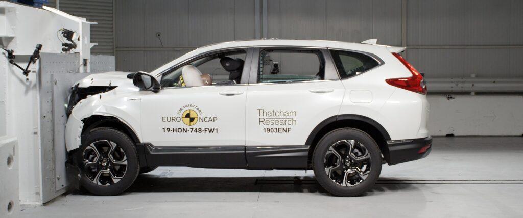 Teste CR-V Hybrid EuroNCAP