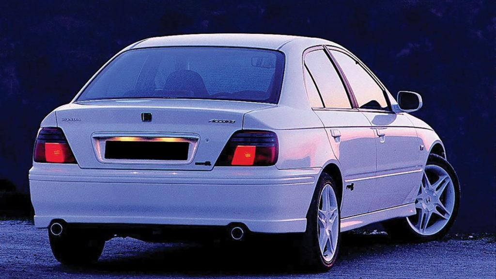Traseira Honda Accord Type R