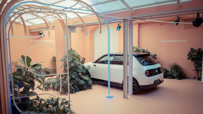 Traseira Protótipo Honda e Semana Design Milão