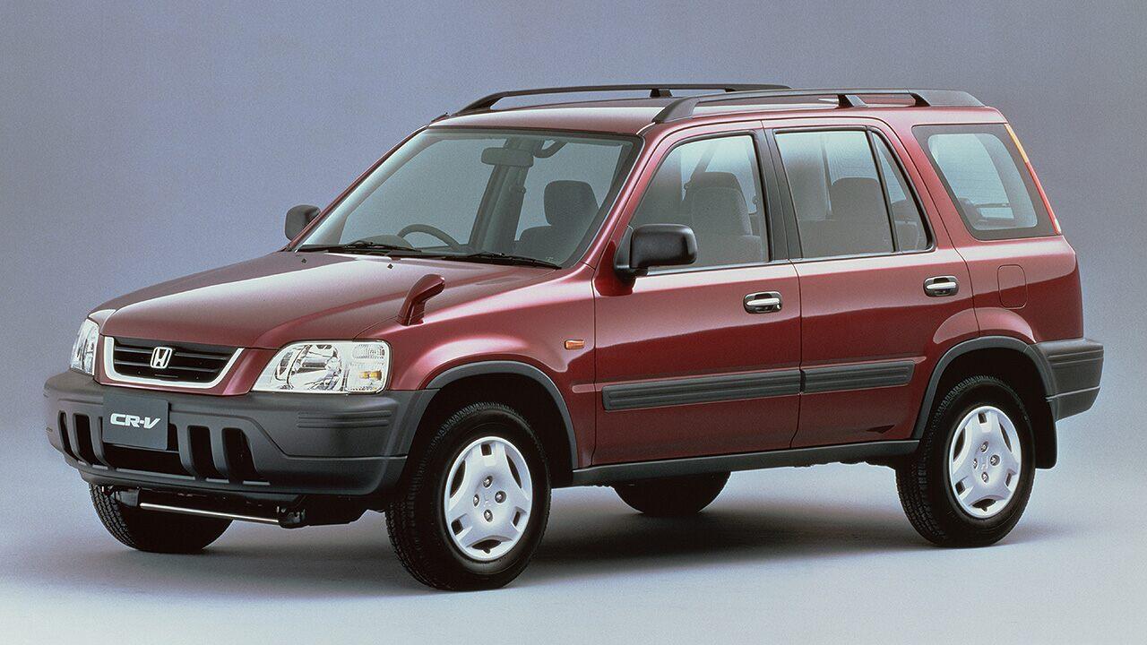A primeira geração do Honda CR-V
