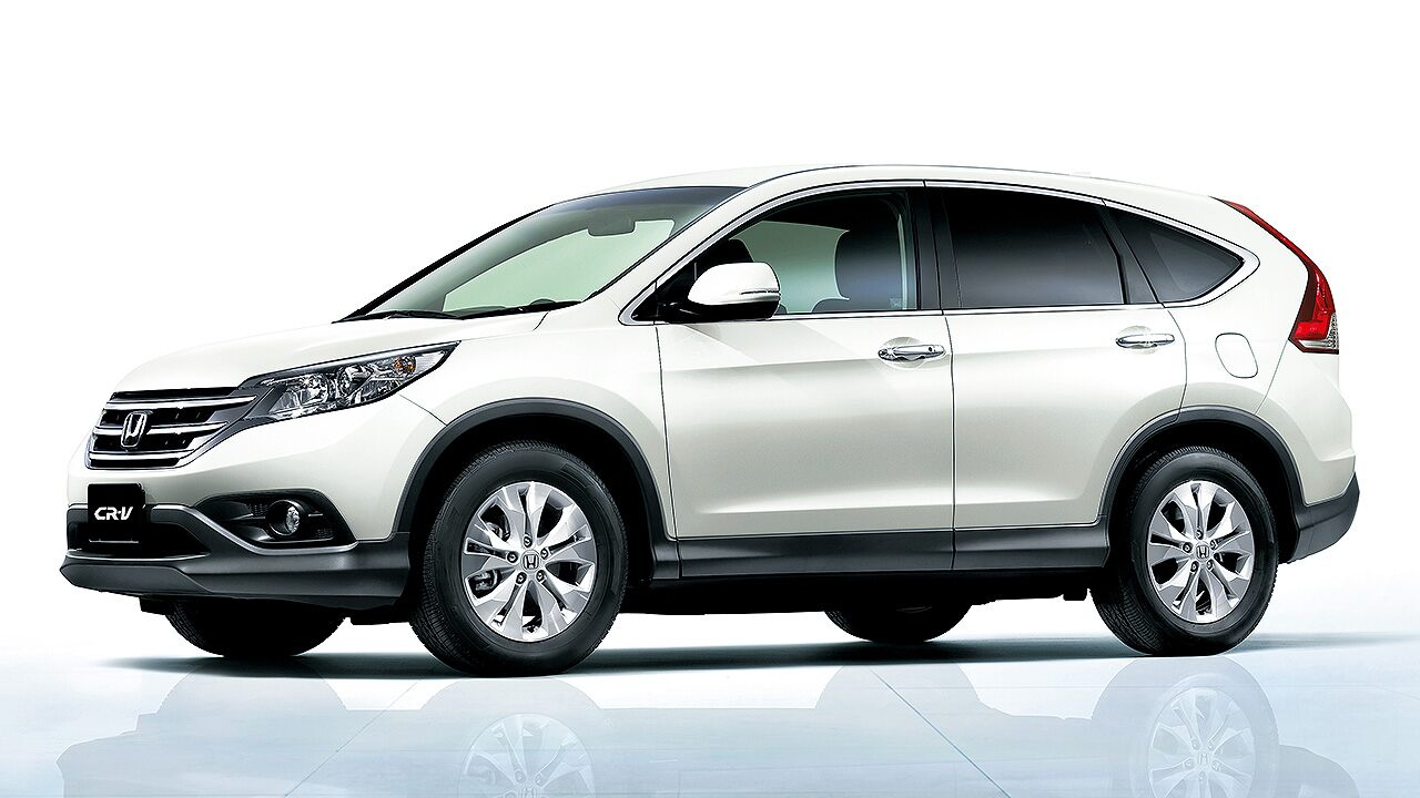 A Quarta geração do Honda CR-V