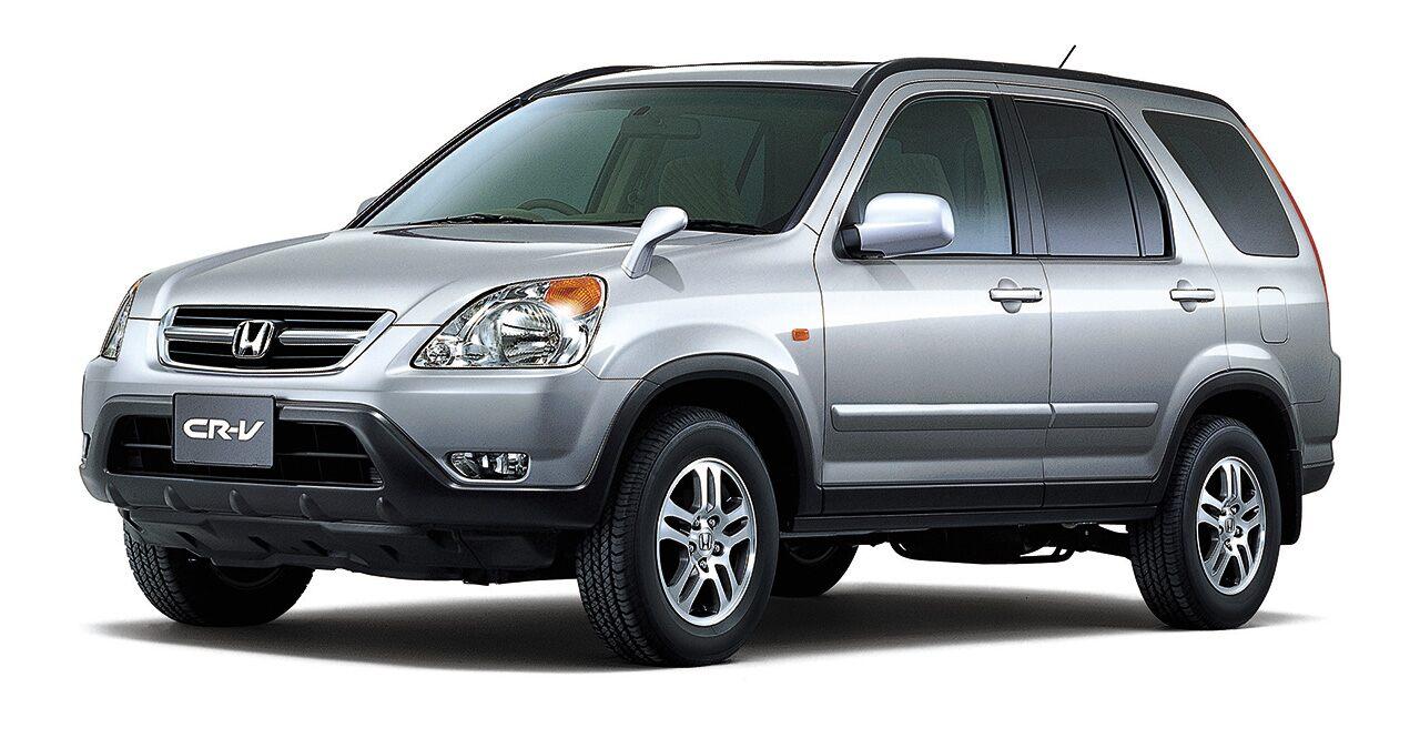 A segunda geração do Honda CR-V