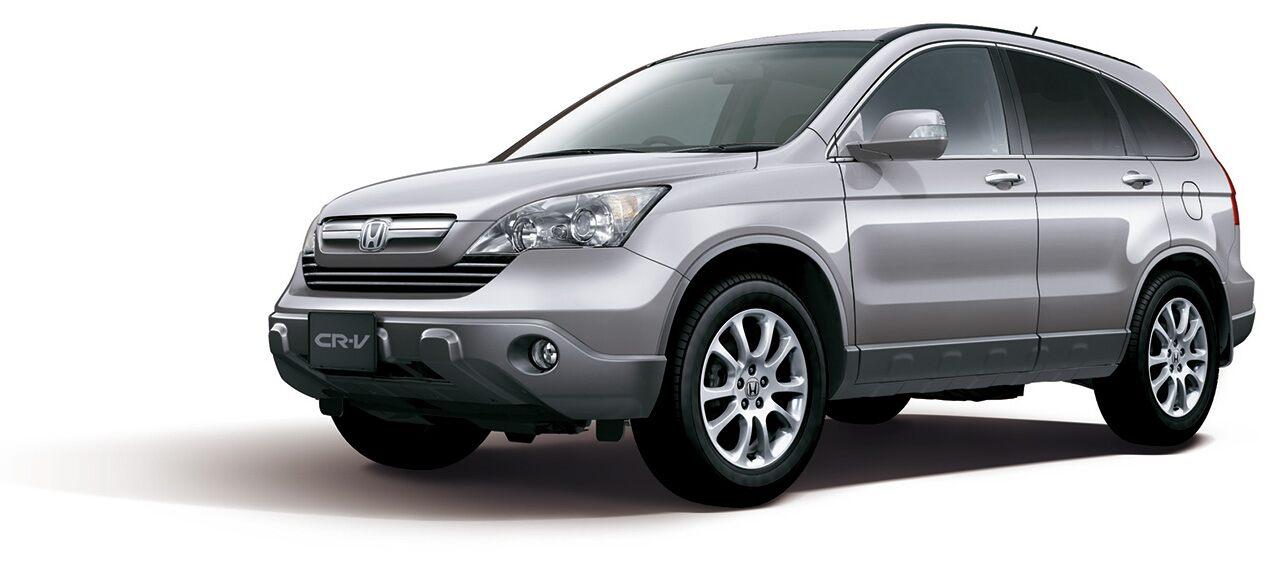 A terceira geração do Honda CR-V