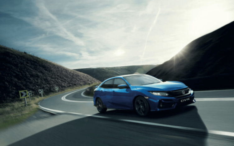 Novo Honda Civic 2020 na Estrada