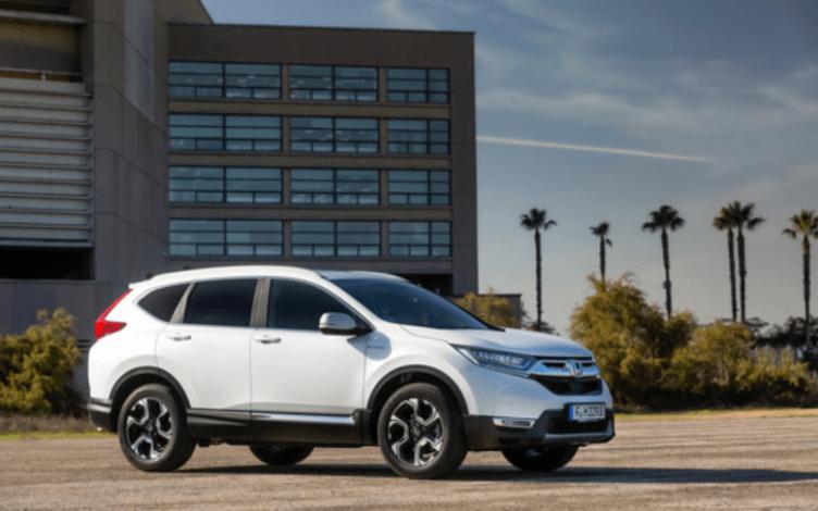 O Novo Honda CR-V Hybrid em Branco