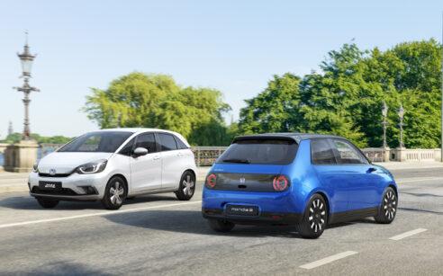 diferença entre carros híbridos e elétricos - jazz hybrid e honda e