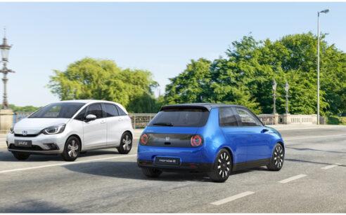 Jazz Hybrid e Honda e