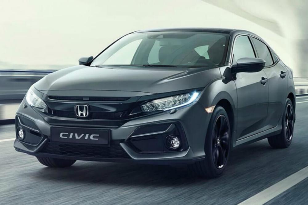 Honda Civic 2020 preto