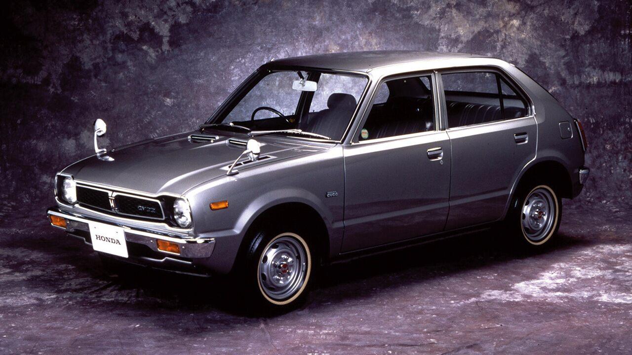 A primeira geração do Honda Civic