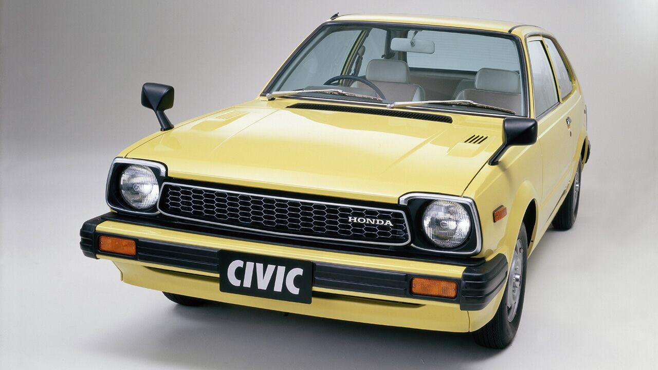 A segunda geração do Honda Civic