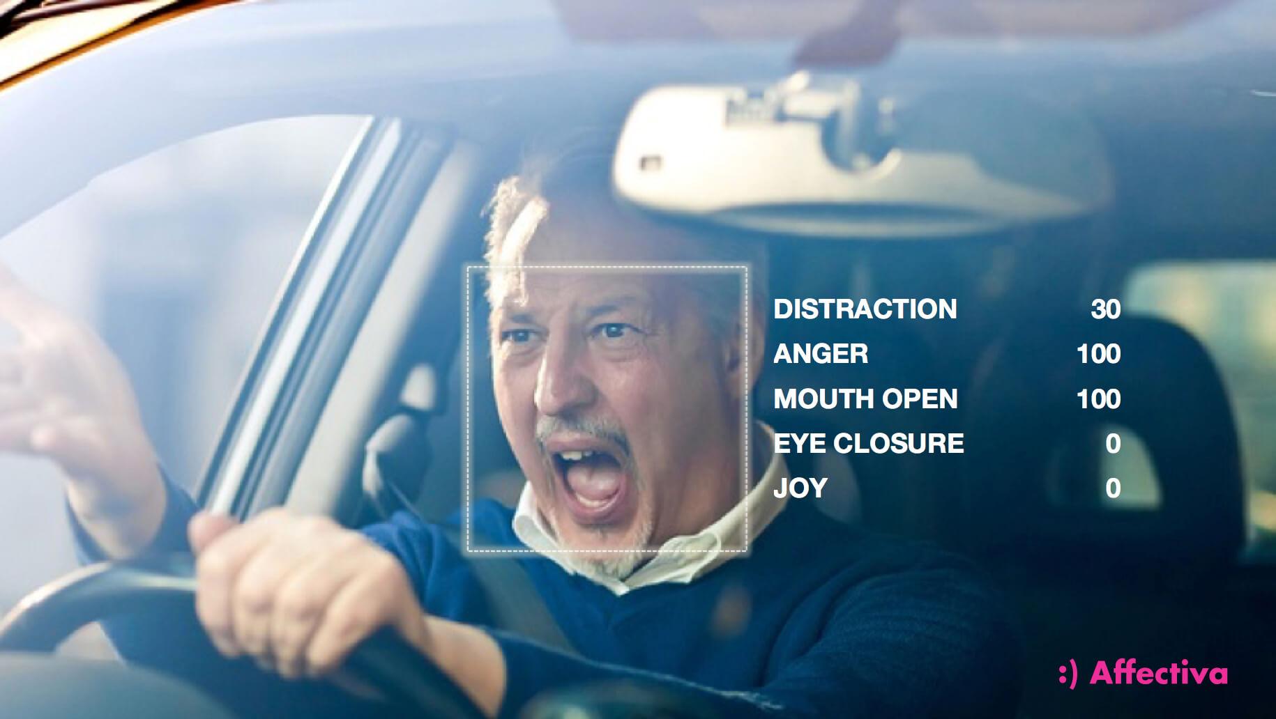 Tecnologia Affectiva analisa as emoções de um condutor