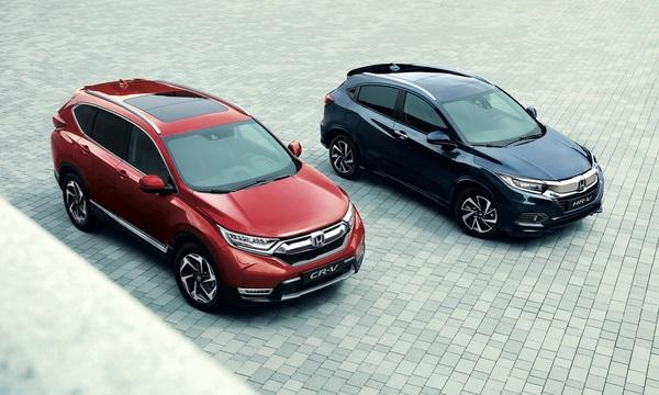 O SUV Honda CR-V e Honda HR-V são carros bons para viajar