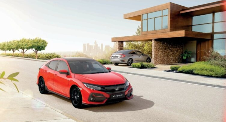 O novo Honda Civic continua a ser um carro seguro para conduzir