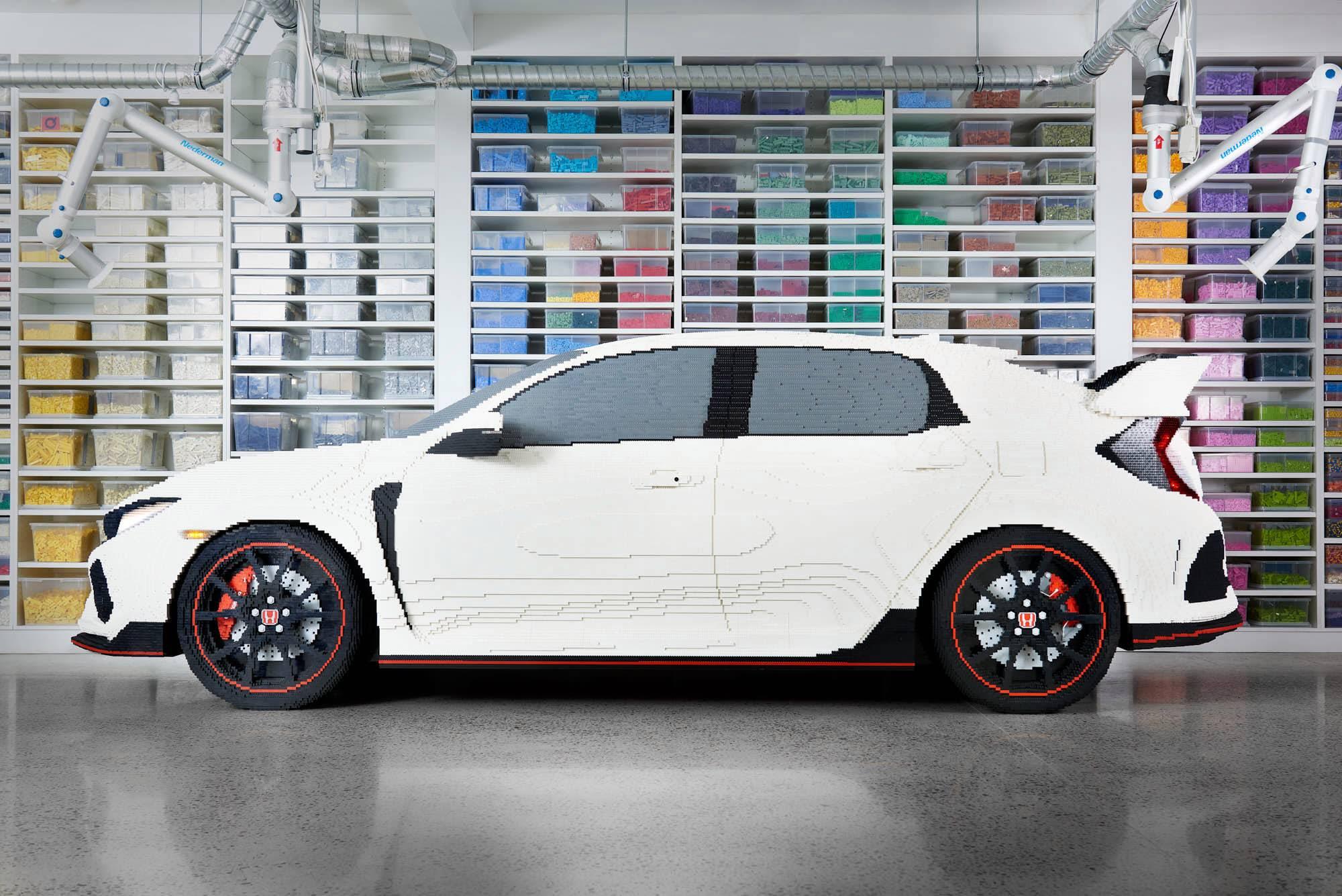 Honda Type R construído pela LEGO