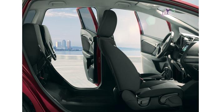 O Honda Jazz pode ser personalizado com vários acessórios e equipamentos extra