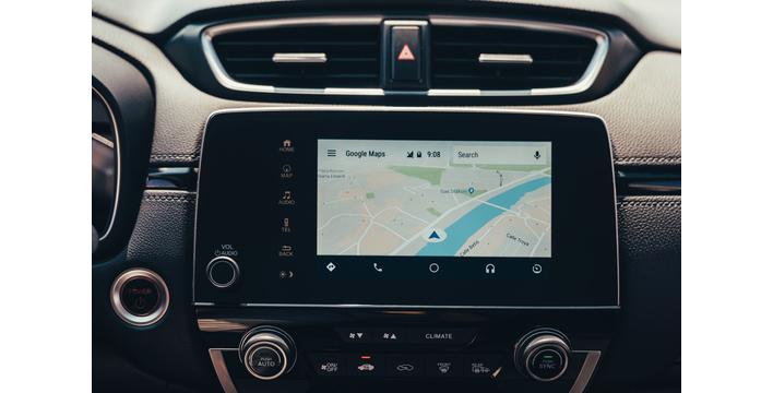 O CR-V inclui sistema de navegação